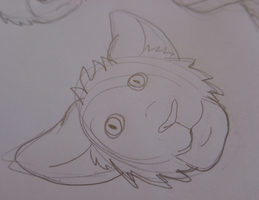 WD Little Head Shot Doodles 4 of 4 by The-Smile-Giver