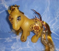 MLP Custom Sunny Sunflower by colorscapesart