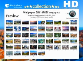Wallpaper Tilf Shift Mega Pack by CaHilART