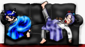 The Couch by pyocolaxsama