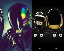 Daft Punk by chipocludo