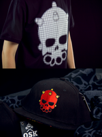 Jimbo tee and Bombhead cap by russoturisto