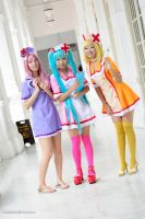 Vocaloid Loveward_Group Shoot 2~ by UmiKimiko