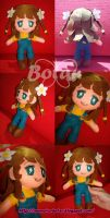 chibi Charlotte plush version by Momoiro-Botan