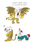 Gilda is a Griffon by Mickeymonster