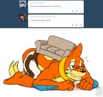 *hides under the couch* by buizelmaniac
