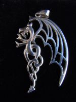 dragon pendant by biltongboy