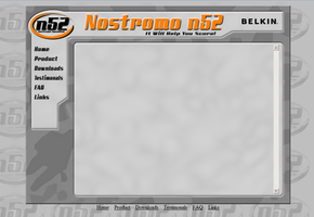 Nostromo Web Template by ScaperDeage