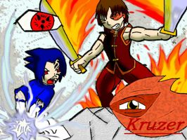Zuko Vs. Sasuke by KCruzer