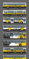 Coloring-layout of a bus for local security compan by box426