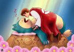 Snorlax And The Prince by FistEastwood