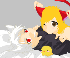 Prussia X Little Red by ImTheAwesomeHero