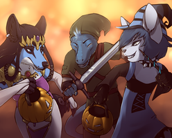 Trick or Treat by Hone-Jasere