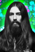 Psychedelic George by i-heart-ringo
