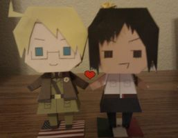 APH US Mexico Paper Dolls by WonderfulMelody8