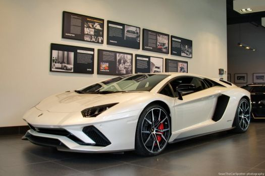 Aventador S by SeanTheCarSpotter