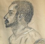 Bearded Guy in Charcoal by ChozoBoy