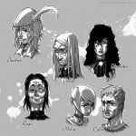 Characters of The Witcher 01 by Hizumi-Tsukasa