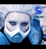 Cosplay Frost - Mortal Kombat Deadly Alliance by AndroideDezoito