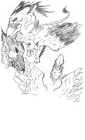 Griffin sketch by Kumotogi