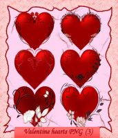 Valentine hearts PNG-3 by roula33