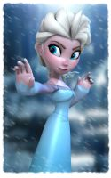 Disney's Frozen: Elsa by Irishhips