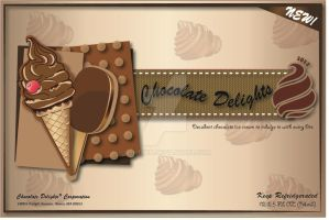 Chocolate Delights Ice Cream Bars by AshTwin