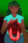 AD/Goretober_ Gut Spill [Maggie] by Welcoming-Meg