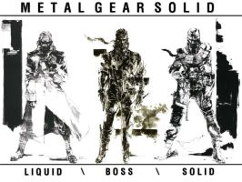 The Three Snakes by MetalGearSolid211