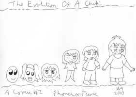 SketchADay - Chibi Evolution by Phoneix-Faerie