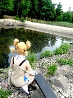Close to the river by Temari-ore-no-yume
