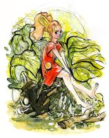 The Secret World of Arrietty Watercolor by Tsubasa-No-Kami