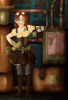 Steampunk by little-space-ace
