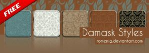 Damask Layer Styles by Romenig
