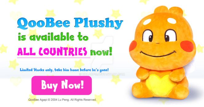 QooBee Plushy for Sale by goloops