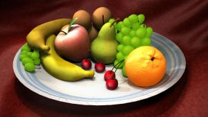 Fruit Bowl by MarieDRose