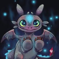 Cute toothless by 99g3ny99