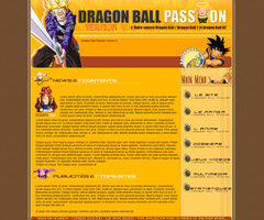 Design Dragon Ball Passion by brolyomega