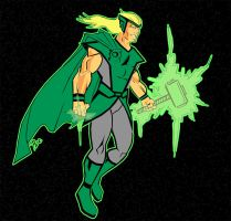 Green Thor by rubioric