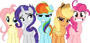 Mane Six by WENDlGO