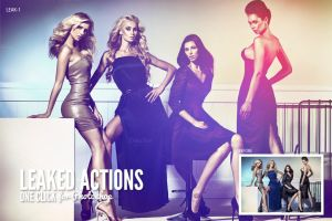 Leaked Photoshop Actions Series One by AzharStdio