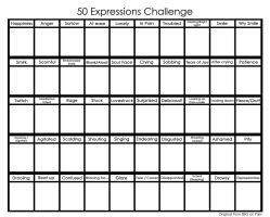 Pixiv 50 Expressions Challenge -Blank- (English) by BlazeTBW