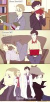 Johnlock!AUs by Nihui