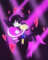 Mettaton and the Human by Nightmares4Breakfast