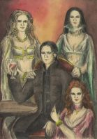 Dracula and his brides by AnotherStranger-Me