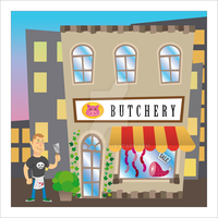 Phil and the Butchery by fiyeropip