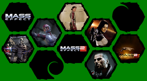 Mass Effect 1 and 2 by WE4PONX
