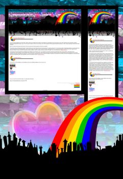 LGBT-on-dA Journal 2 by kproductions