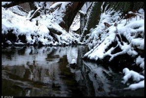 Winterly Brook by Hluthvik