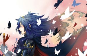 Princess Lucina (Fire Emblem) by erikarikari